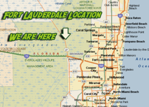 Map FT Laud