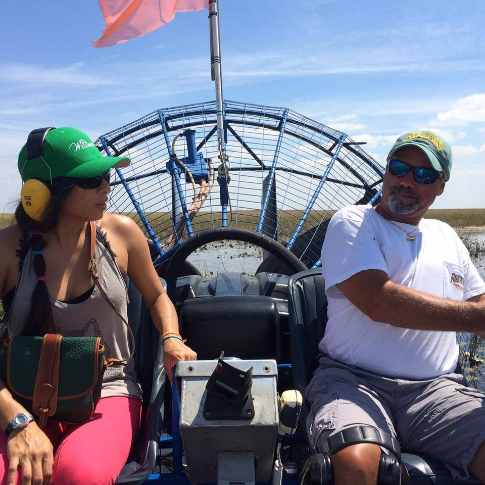 Drive Our Everglades Airboat!