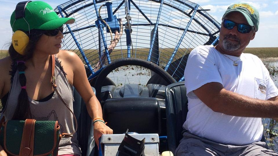 Drive an Airboat