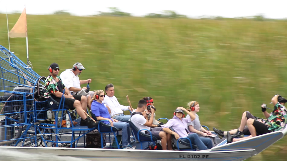 Fast Everglades Airboat Tour