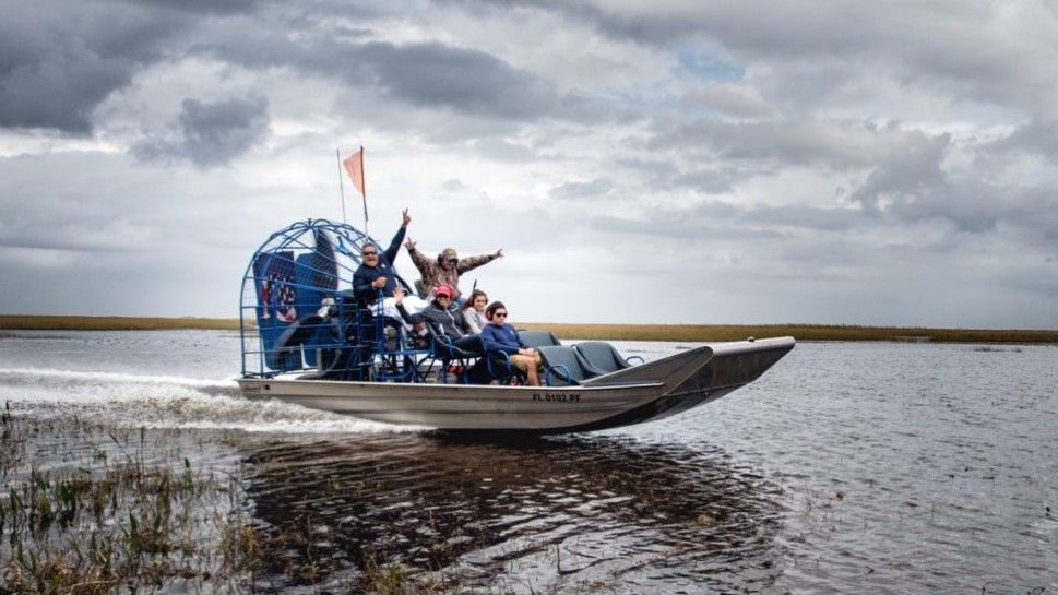 Fun Everglades Airboat Tour